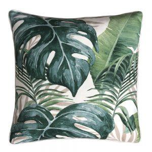 Daydream holiday green outdoor cushion