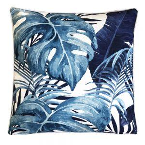 Daydream holiday navy outdoor cushion
