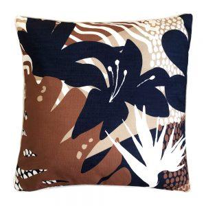 Daydream island terracotta outdoor cushion