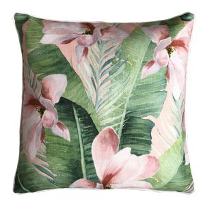 Daydream magnolia blush outdoor cushion