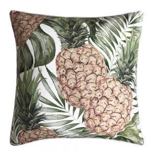 Daydream pineapple green outdoor cushion