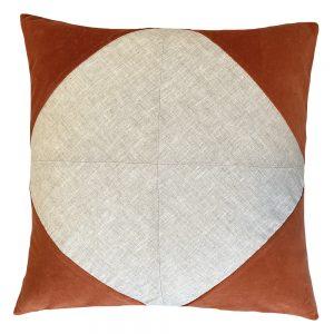 Denver 50cm orange indoor cushion