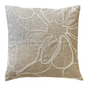 Grace 45cm natural indoor cushion