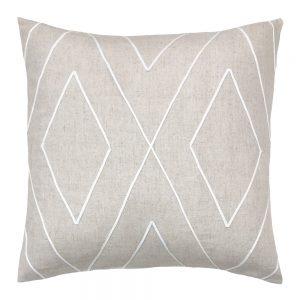 Indo 50cm white indoor cushion