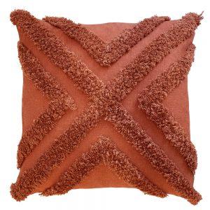 Lava 45cm orange indoor cushion
