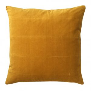 London ochre indoor cushion