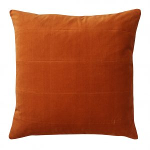 London orange indoor cushion