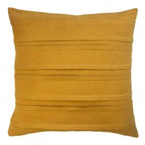 Montauk ochre indoor cushion